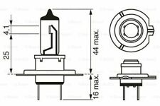BOSCH 1 987 302 079 Glühlampe Hauptscheinwerfer für VW MERCEDES-BENZ RENAULT