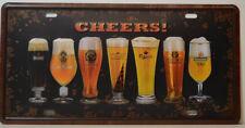 Cheers CERVEZAS - BEERS - HEINEKEN - carlsberg-blechschild 15 ,5x30,5 cm
