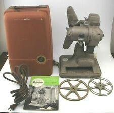 Vintage Revere Model 85 8mm Film Projector w/ Case Excellent Condition Tested