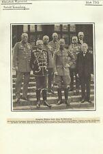 Kronprinz Friedrich Wilhelm 50. Geburtstag 1932 - Alter Druck Porträt