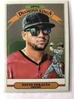 2019 Panini DonRuss Optic David Peralta Baseball Card #28