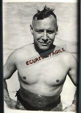 PHOTO presse sport natation nageur belge Georges BLOMMES traversée de la Manche