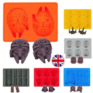 Star Wars Ice Cube Tray - Mould Silicone Cake Jelly Whisky UK Seller