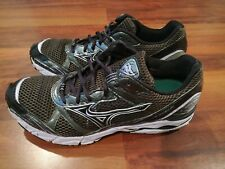 Mizuno Wave Rider 14 Womens Athletic Running Shoes Black Silver purple Size 11.5