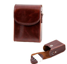 For Panasonic DMC-TZ60 TZ55 TZ40 TZ35 SZ10 Bag Retro Vintage Leather Camera Case