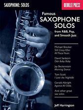 Famosa SASSOFONO Solos-da R&B, POP, Smooth Jazz