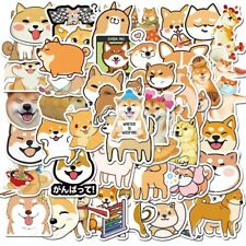 50 Pcs Kawaii Shiba Inu Dog Cute Vinyl stickers Waterproof - Usa Seller