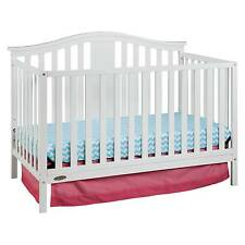 Graco® Solano 4-in-1 Convertible Crib with Bonus Mattress - White