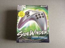 PC Manette MICROSOFT WINDOWS SideWinder GamePad Pro USB Compatible = NEUF