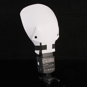Flash Bounce Soft Reflective Shovel Diffuser for Canon Nikon Sony Yongnuo
