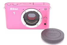 Nikon 1 J2 10.1 MP Digital Camera - Pink (Body Only)