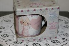 "1994 Precious Moments.""Lauren&#034 ;.Stoneware Mug"
