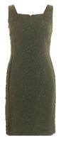 Jones Wear Size 8 Green & Black Flora Career Cocktail Sheath Dress