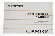 1997 Toyota Camry owners manual good condition US 01999-33466