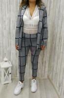 completo donna giacca e pantaloni, tartan, tailleur, vestito