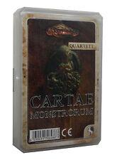 Cartae Monstrorum Quartett-Kartenspiel-Wesen des Cthulhu-Mythos-Horror-Neu-OVP