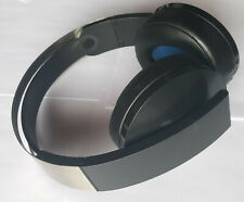 Black Sony PlayStation PS4 Platinum Wireless HEADSET ONLY Without Adapter - USED