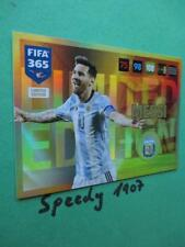 Fifa 2016 2017 Limited Edition Messi Argentina not Barcelona 365 Panini 17
