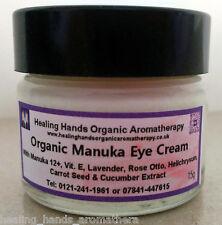 Organic Aloe Vera Uplifting Eye Cream with Manuka 12+ Honey - 15g