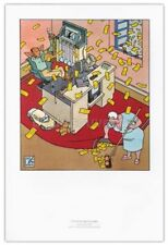 Affiche BD JOOST SWARTE Articulado Un otono bienvenido 30x45 cm