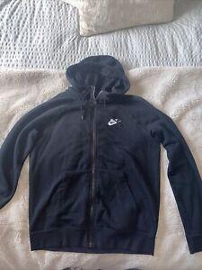 Womens Black Nike Zip Jacket