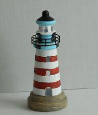 Lighthouse Tea Light votive Holder 20 cm Seaside Bathroom Aeronautical