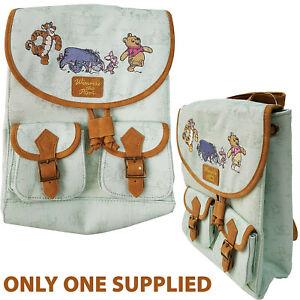 Winnie The Pooh Backpack Small Rucksack Bag Disney Store Tigger Piglet Eeyore
