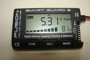 Fusion Digital Battery Checker and Balancer for Lipo and Nicad (562)