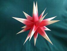 Kraft Folding Star Paper Lantern from Annaberg Germany Handmade Mib