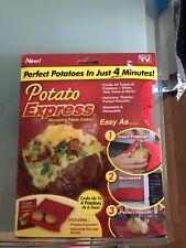 Potato Express Microwave Baked Potato Cooking Cooker Bag As Seen On TV