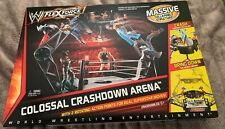 MATTEL WWE FLEXFORCE COLOSSAL CRASHDOWN ARENA RINK PLAYSET - NEW IN BOX
