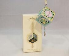Hallmark Magic Ornament 2007 Baby's First Christmas - Musical Block #QXG6117-SDB