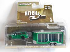 GREENLIGHT DODGE DURANGO R/T & TRAILER 1/64 32150-D HITCH & TOW S15 CHASE GREEN