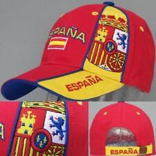 """España Gorro """"elegante bordado"""" +nuevo + Fan EM 2016 Gorra España 100% Algodón"""