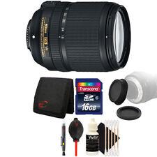 Nikon AF-S DX NIKKOR 18-140mm Lens with Accessories for Nikon D5300 D7100