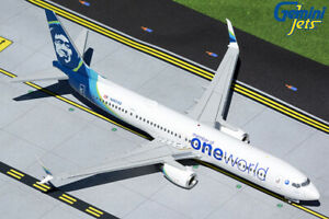 """Gemini Jets 1:200 Alaska Airlines 737-900ER """"oneworld"""" G2ASA1015 IN STOCK"""