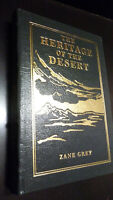 HERITAGE OF THE DESERT by Zane Grey - Easton Press Leather RARE LIMITED EDITION