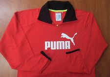 PUMA Volvo Ocean Race Round The World Sailing Performance 1/4 Zip Pullover L NEW