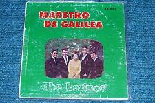 THE four LATINOS Maestro De Galilea XIAN LATIN SOUL LP