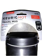 Travel Coffee Mug With Lid Insulated Stainless Steel Leak Proof No Spill12oz NEW