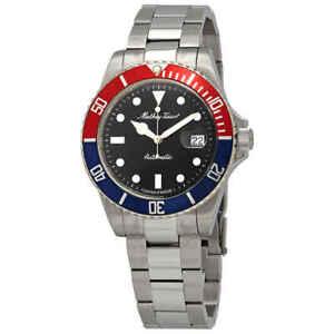 Mathey-Tissot Mathey Vintage Automatic Black Dial Pepsi Bezel  Men's Watch