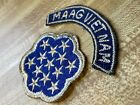 Chenille Viet Nam Vietnam MAAG Military Advisor and Assistance Group Patch w Tab