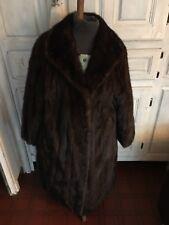 manteau vison femelle d'élevage, état neuf, du 44 au 48