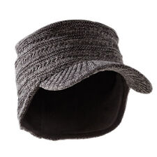 PFANNER Yukon Schild Strickmütze Mütze Fleece kalt Winter Kopf warm Outdoor