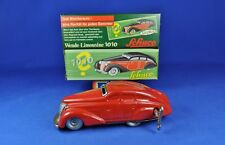 SCHUCO Wende-Limousine 1010, Blech rot / Tin red, Replica, Made in Germany, OVP