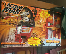 Vintage Action Man Mission HQ Base Very Good Condition