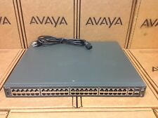 Nortel Avaya 4550T AL4500A02-E6 48-Port 10/100 Ethernet Routing Switch FREE SHIP