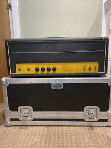 Carlsbro 50 top guitar amp head inc flight case