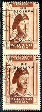 Corpo Polacco 1946 P.A. n. 1b coppia - varietà (m293)