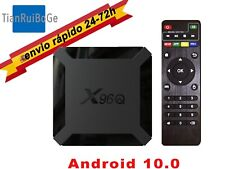X96Q TV BOX Android 10.0 4K quad core 2.4G WIFI reproductor multimedia